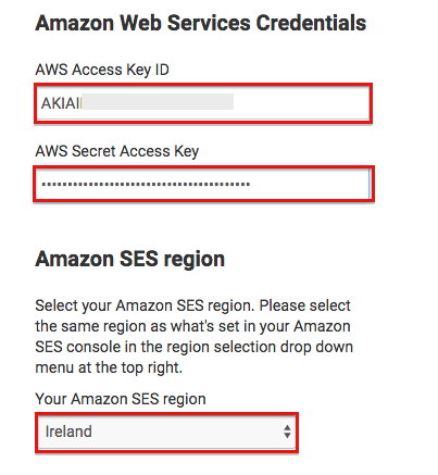 Creating AWS SES Access Keys For Sendy | Colcol